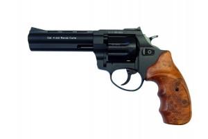 """Револьвер Флобера ATAK Arms Stalker 4.5"""" (барабан: силумин / черный / пластик под дерево)"""