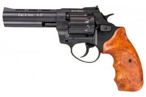 """Револьвер Флобера ATAK Arms Stalker 4.5"""" (барабан: сталь / черный / пластик под дерево)"""