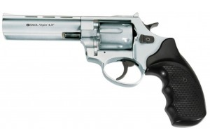 "Револьвер Флобера Voltran Ekol Viper 4.5"" (хром / пластик)"