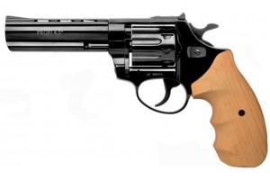 """ZBROIA. Револьвер флобера PROFI-4.5"""" (чёрный / дерево)"""