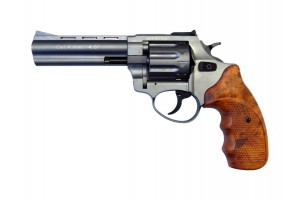 """Револьвер Флобера ATAK Arms Stalker 4.5"""" (барабан: сталь / серый / пластик под дерево)"""