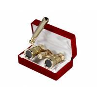 Бинокль 3x25 - Театральныи (gold)